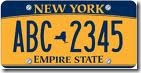 nys license plate